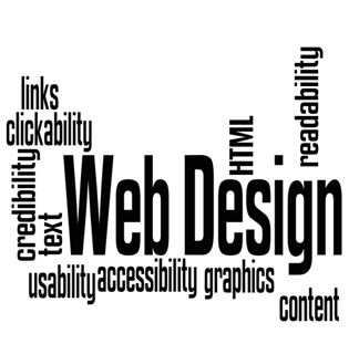 Web Design Terms Collage